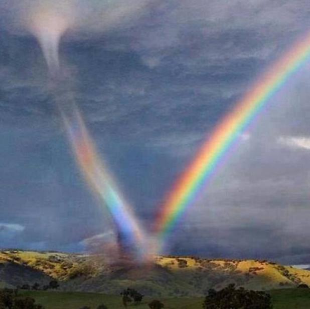 rainbow tornado | BREATHING SPACES
